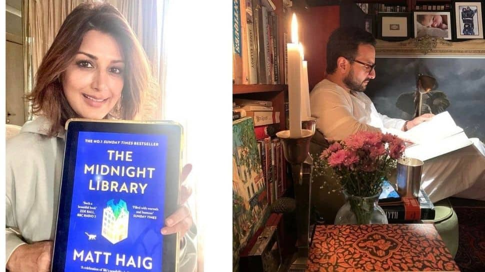 World Book Day 2021: Sonali Bendre, Saif Ali Khan and other celebs who are book lovers!