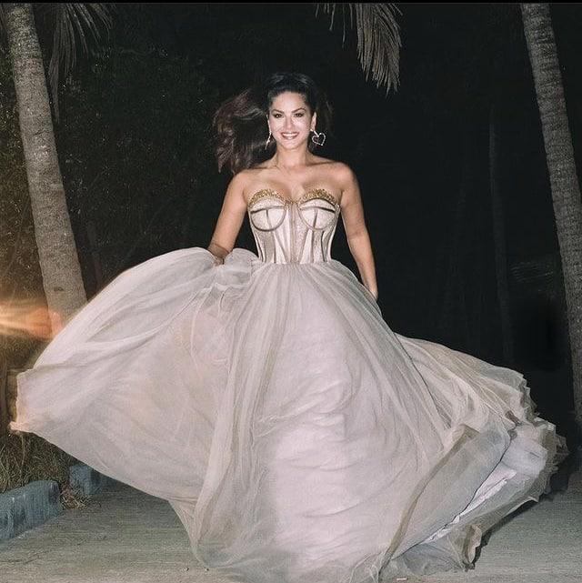 Sunny Leone turns runaway bride for the camera