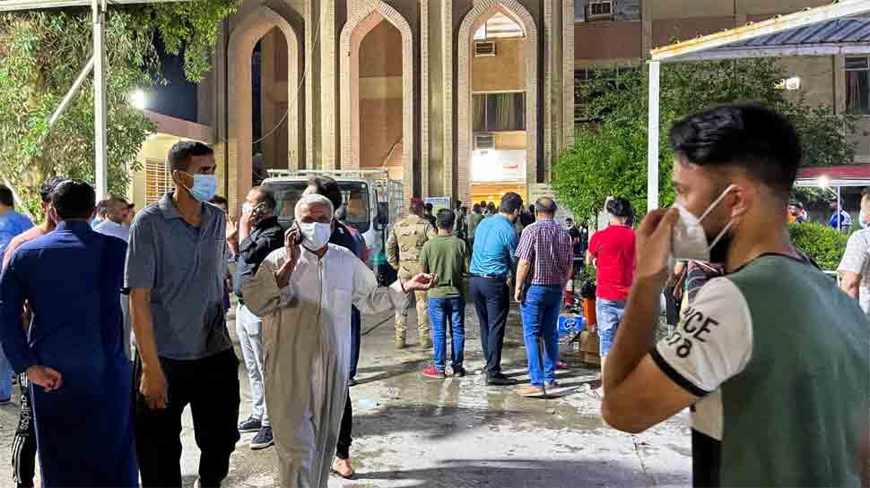 Iraq: Massive blaze in ICU of coronavirus ward in Baghdad hospital kills 82