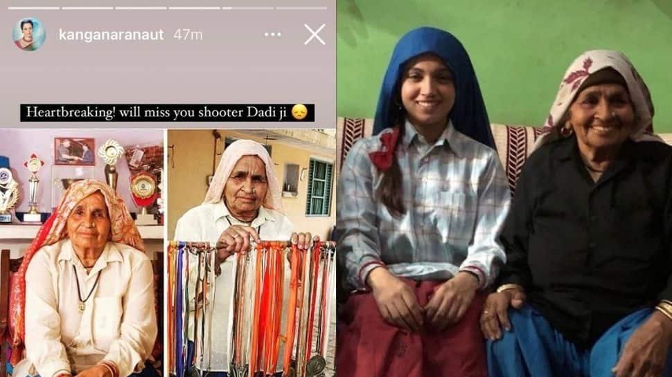 Kangana Ranaut, Bhumi Pednekar, other celebs mourn demise of 'Shooter Dadi' Chandro Tomar with heartfelt posts!