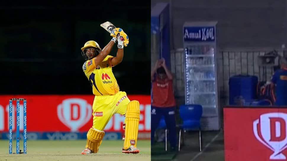IPL 2021, CSK vs MI: Ambati Rayudu smashes glass-breaking six; Jasprit Bumrah finishes with most expensive spell ever