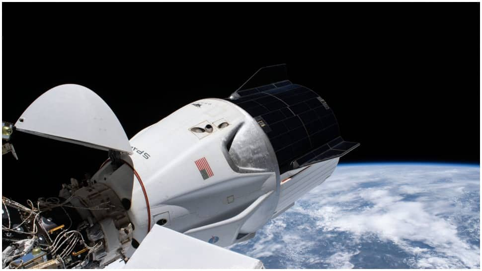 SpaceX Dragon capsule heads home with four astronauts from ISS