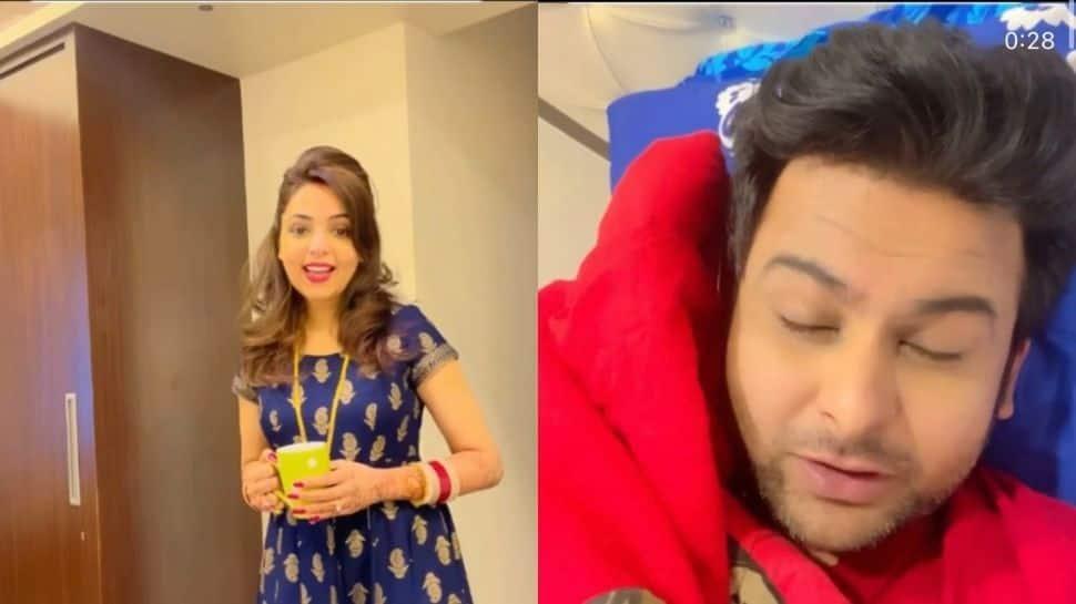 Kapil Sharma Show fame Sugandha Mishra's hilarious video with husband Sanket Bhosale is unmissable! - Watch