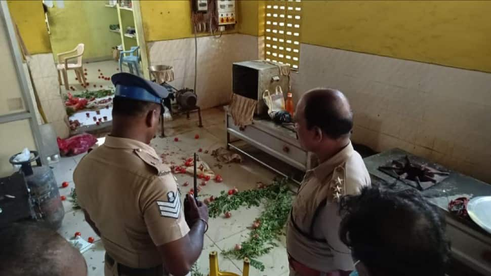 Amma canteen vandalised in Chennai, DMK owns fault after AIADMK shares footage