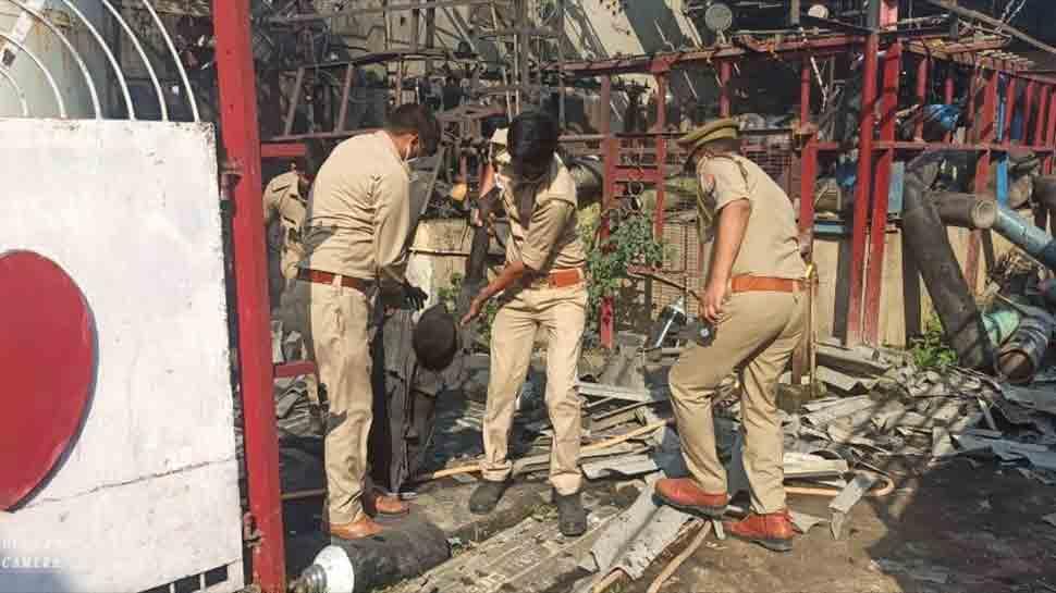 Explosion at oxygen refilling plant in Uttar Pradesh's Lucknow, 3 people dead