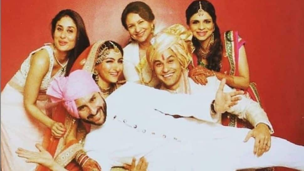 Sharmila Tagore- Saif, Saba and Soha Ali Khan