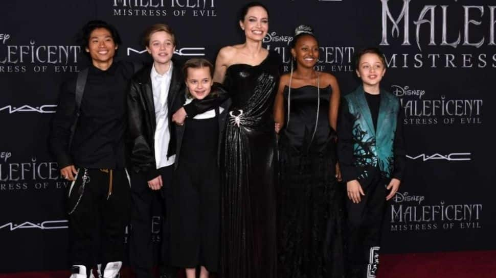 Angelina Jolie: I am very warm and gentle with my children
