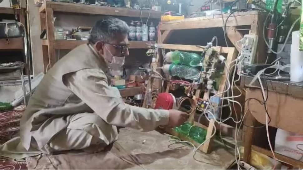 Kashmiri innovator creates affordable oxygen concentrator amid COVID-19 crisis