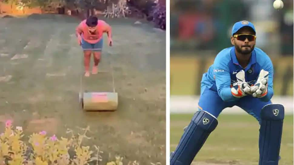 COVID-19: Team India wicketkeeper-batsman Rishabh Pant finds a unique way to stay fit indoors – WATCH