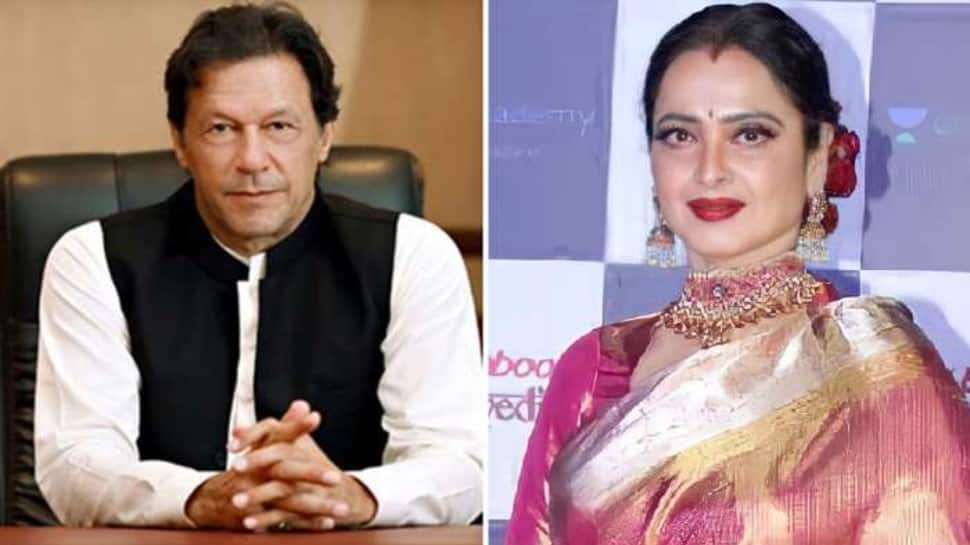 Throwback: When former Pakistan skipper Imran Khan almost got married to  Bollywood actress Rekha | Cricket News | Zee News