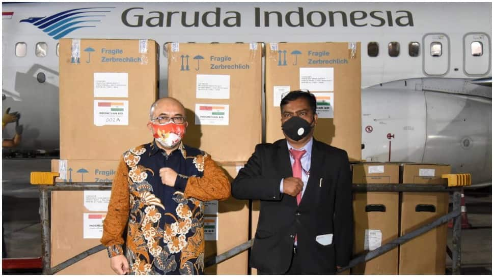 India receives 200 oxygen concentrators from Indonesia amid surge in COVID-19 cases