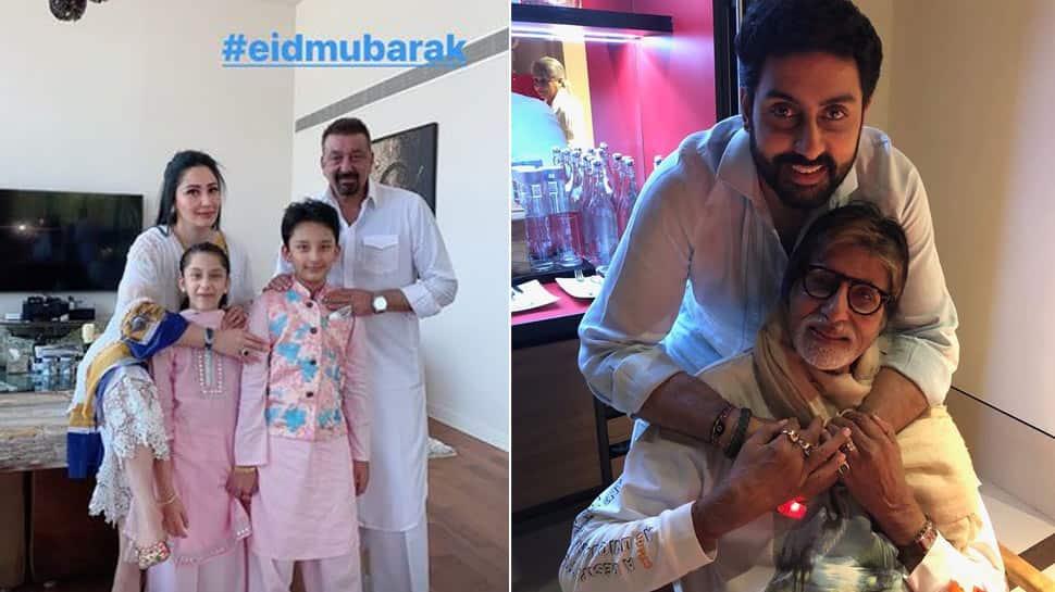 Eid Mubarak! Amitabh Bachchan, Sanjay Dutt and others wish on Eid-ul-Fitr 2021