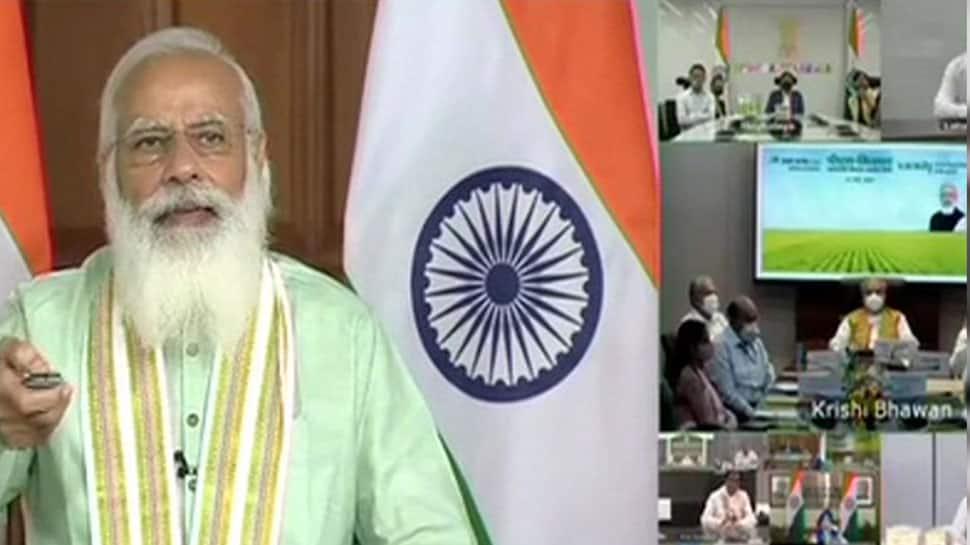 PM-KISAN: PM Modi releases 8th instalment worth over Rs 20,000 cr to 9.5 cr farmers
