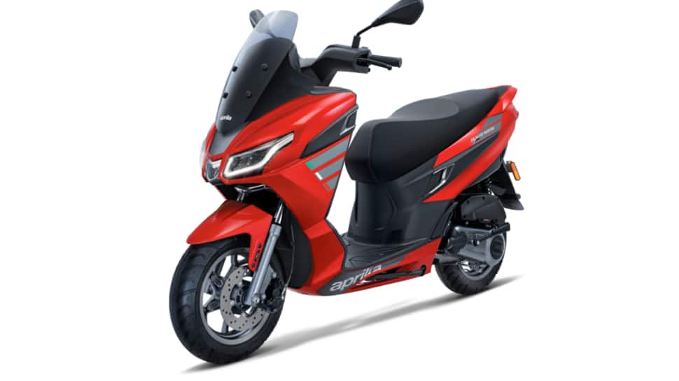 Aprilia launches SXR 125 at Rs 1.15 Lakh in India, check booking options and features here