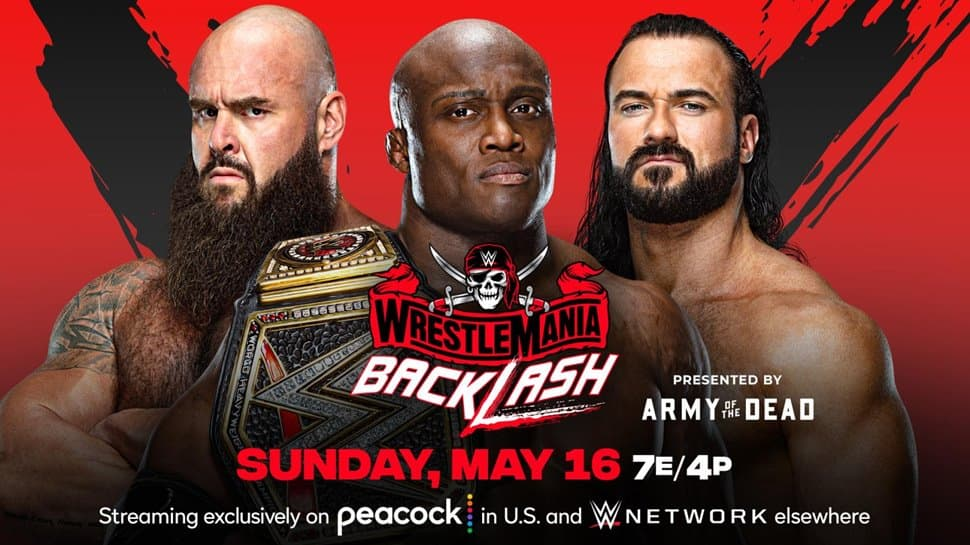 WWE WrestleMania Backlash 2021: Live streaming details in India, Match card, TV channels, timings
