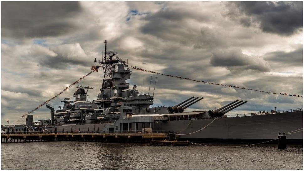 U.S. warship again sailed through Taiwan