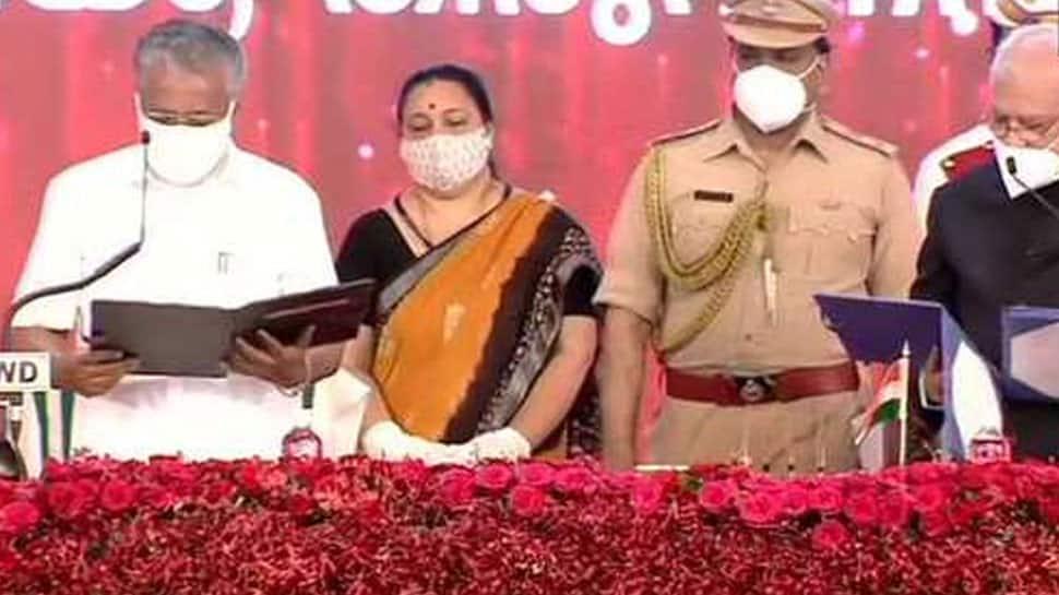 Pinarayi Vijayan takes oath as Kerala Chief Minister for 2nd time
