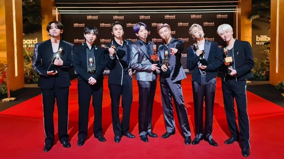BTS wins big at Billboard Music Awards 2021, takes home 4 trophies!
