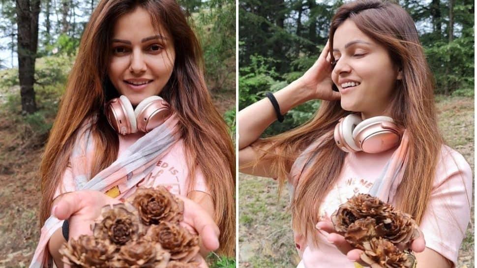 Rubina Dilaik ditches 'big brands' for Shimla's 'jungle jewels' - See pics