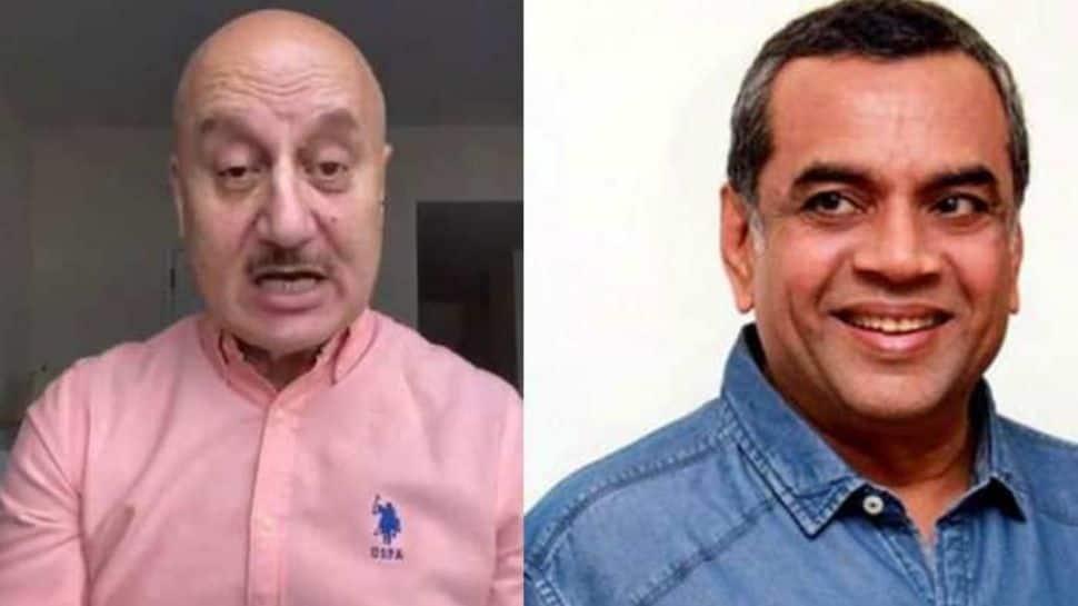 Anupam Kher shares 'tips to success', Paresh Rawal replies