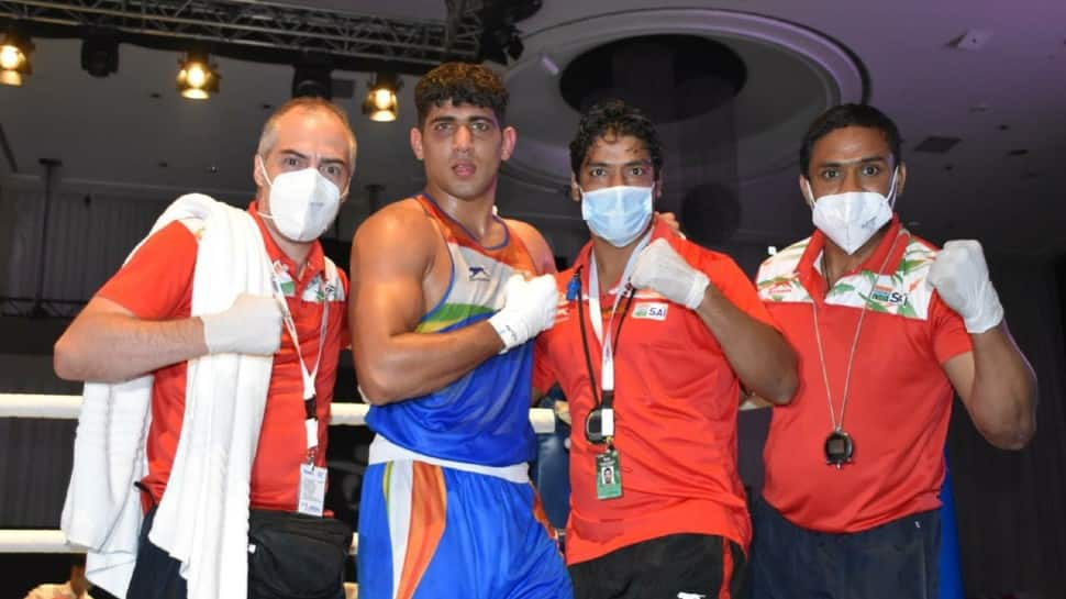 Asian Boxing Championship: India's Sanjeet Kumar wins gold medal in 91 kg category