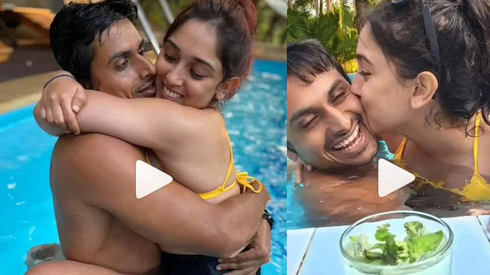 Aamir Khan's daughter Ira Khan's viral video with boyfriend Nupur Shikhare hits internet, enjoys life with loved ones - Watch