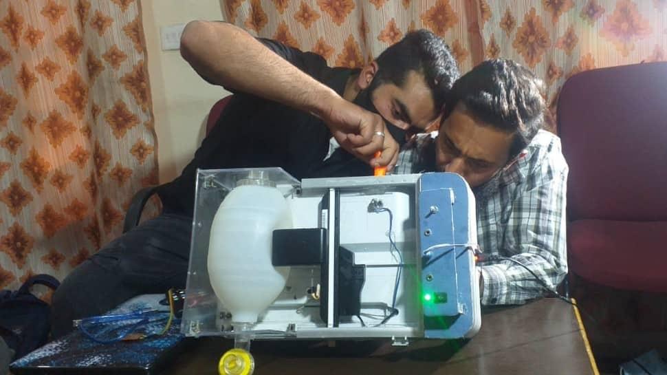 Kashmiri duo make low-cost multipurpose ventilator, seek govt help in mass production