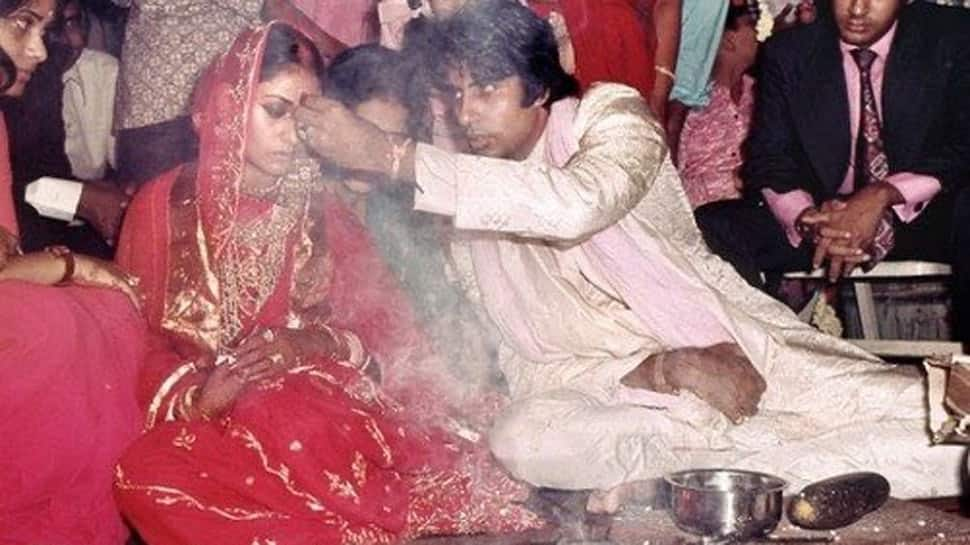 Amitabh Bachchan shares unseen wedding pics with wife Jaya Bachchan, thanks fans for anniversary wishes!