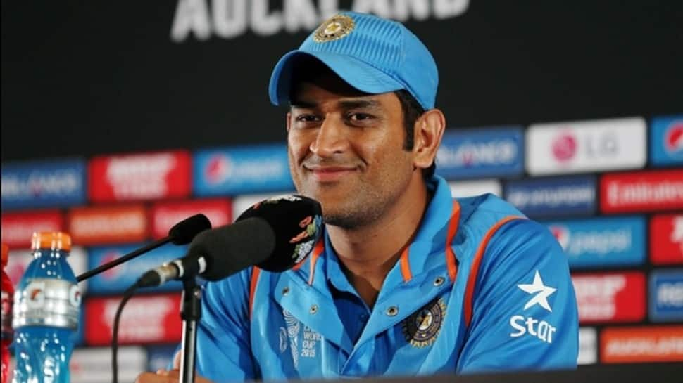 MS Dhoni once turned up for a press conference with entire Indian team, here's why