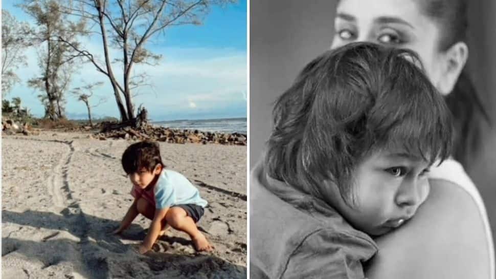 Kareena Kapoor shares Taimur's adorable video at the beach on World Environment Day - Watch