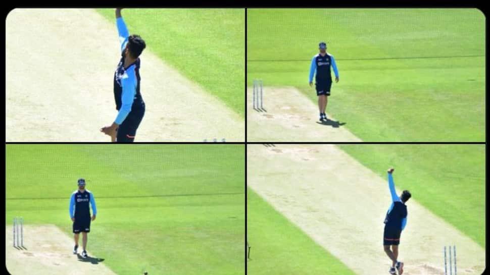 WTC Final: India star all-rounder Ravindra Jadeja begins training in Southampton, see pics