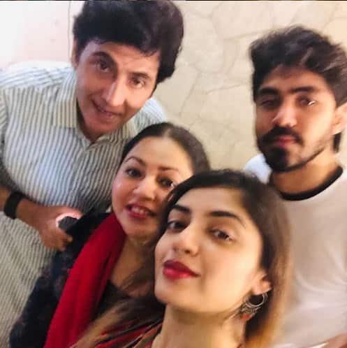 Bhabiji Ghar Par Hai's Vibhuti Narayan Mishra with real family