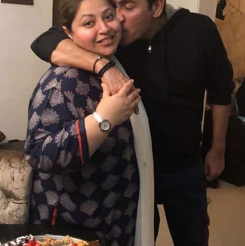 Bhabiji Ghar Par Hai's Aasif Sheikh with real-life wife