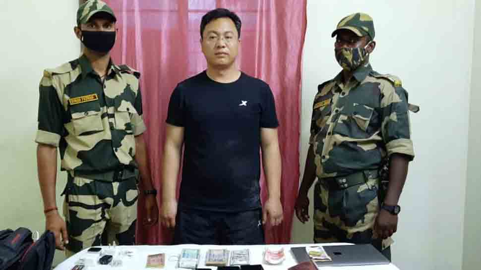 Chinese intruder arrested in West Bengal's Malda, laptop, mobile phones, Indian and foreign currency seized