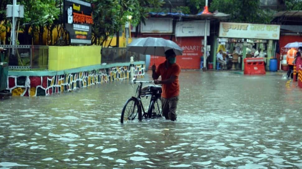 Mumbai rains disrupt life, IMD issues orange alert as heavy to very heavy showers expected in Maharashtra