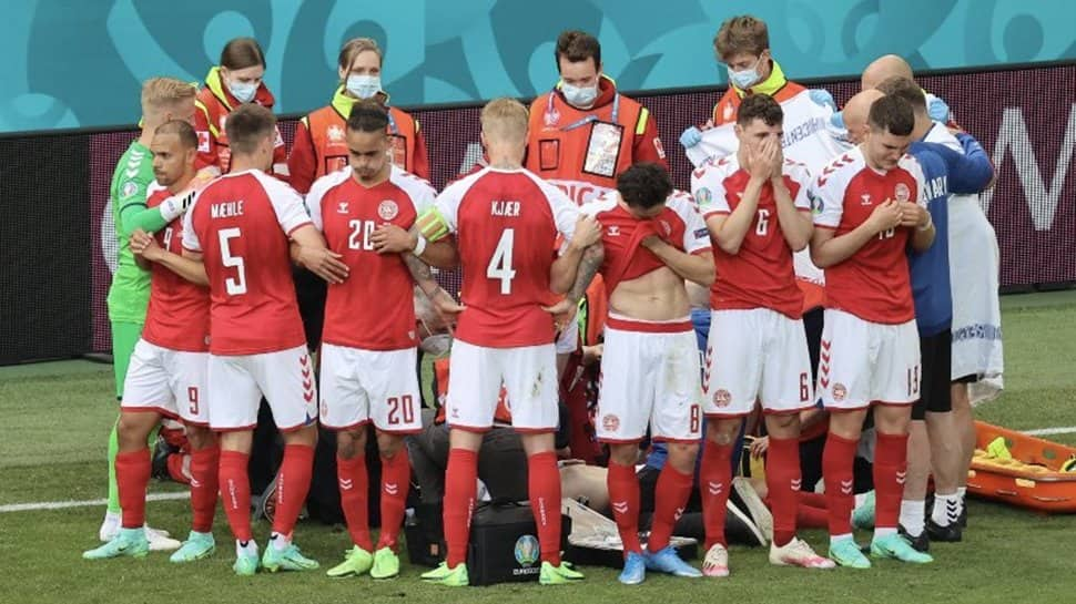 EURO 2020: Christian Eriksen collapses mid-game, Denmark vs Finland to restart after initial suspension - WATCH