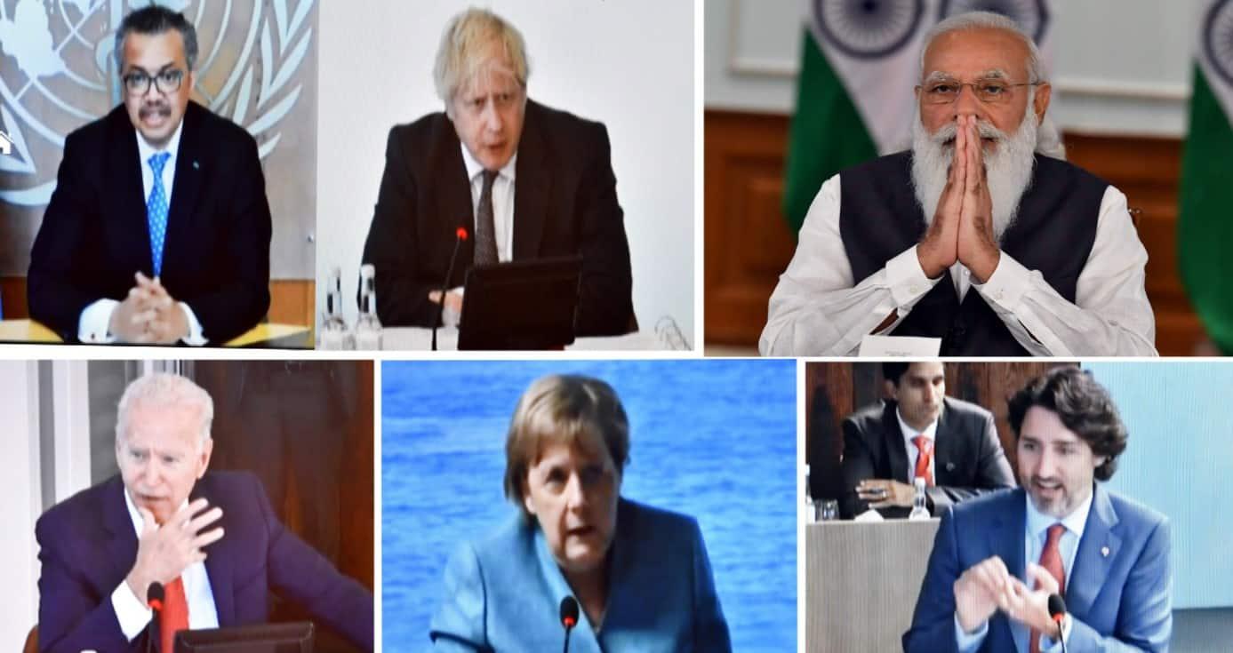 PM Narendra Modi takes part in G7 outreach summit