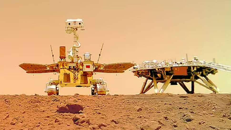 China's Zhurong rover celebrates one month on Mars, snaps selfie with lander – See pics