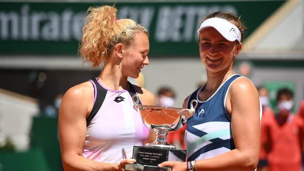 French Open: Unstoppable Barbora Krejcikova completes a rare double in Paris