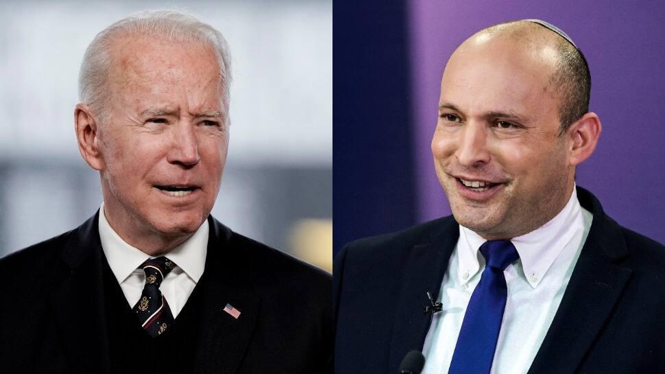 US President Joe Biden extends congratulations to new Israeli PM Naftali Bennett, expresses 'firm intent' to deepen cooperation