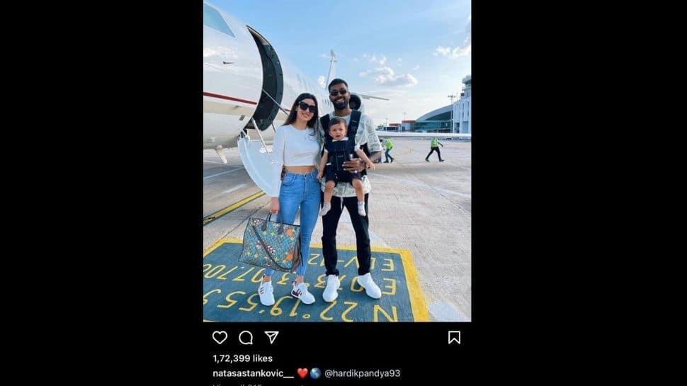 India vs Sri Lanka 2021: Hardik Pandya jets off to vacation with partner Natasa Stankovic and son Agastya, see pics