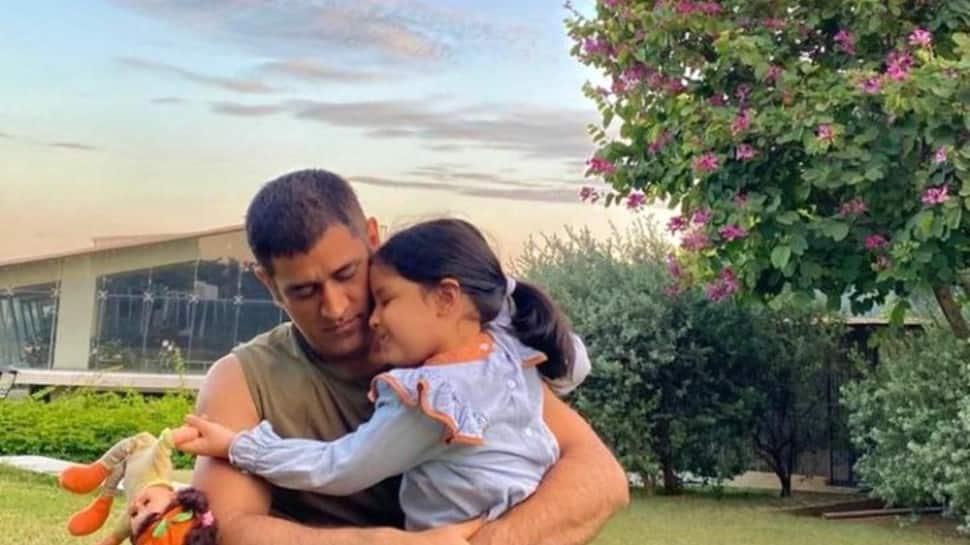 IPL 2021: When MS Dhoni's daughter Ziva cheered for Rohit Sharma's Mumbai Indians