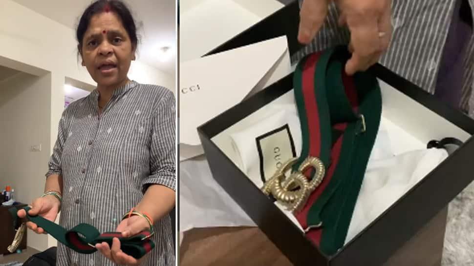 Trending: Daughter buys Gucci belt worth Rs 35k, her mom says, 'Ye to Rs 150 pe bikta hai' - Watch