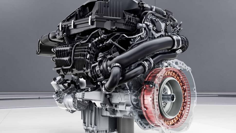 Engine of 2021 Mercedes Benz S-Class