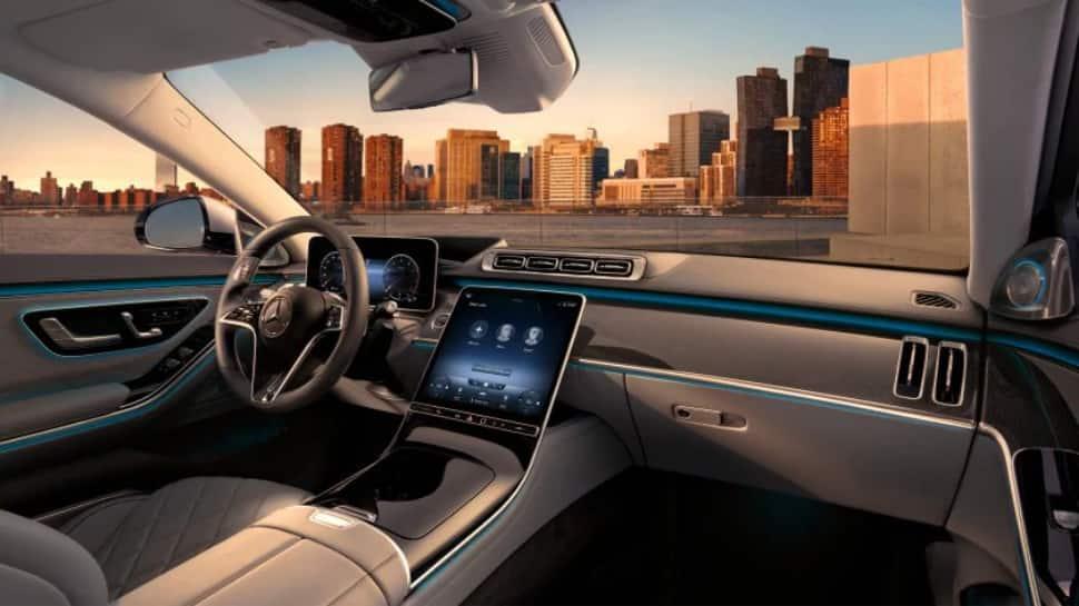 Interior features of 2021 Mercedes Benz S-Class
