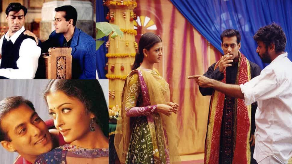 These unseen photos of Aishwarya, Salman, Ajay Devgn from Hum Dil De Chuke Sanam go viral!