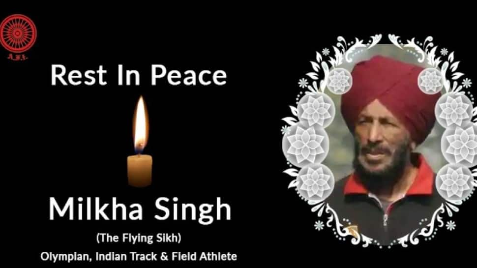 Milkha Singh passes away: Sports fraternity pays tribute to the legendary athlete