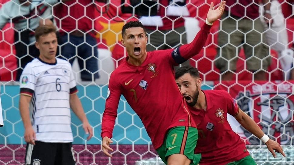 Euro 2020: Cristiano Ronaldo defies age, covers 92m in 14 seconds to score his first-ever goal against Germany – WATCH
