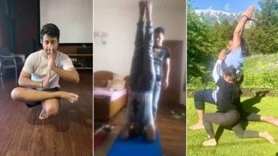 International Yoga Day: From Virender Sehwag to Suresh Raina, India cricketers urge everyone to take up yoga