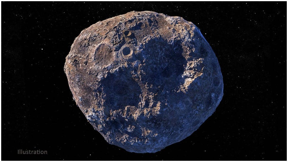 Asteroid 16 Psyche believed worth USD 10000 quadrillions
